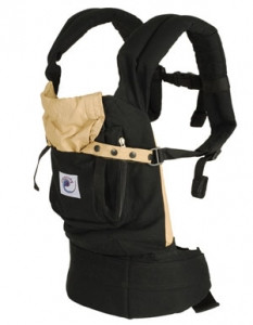Акция!!! Рюкзачок ERGO BABY CARRIER (black/camel)